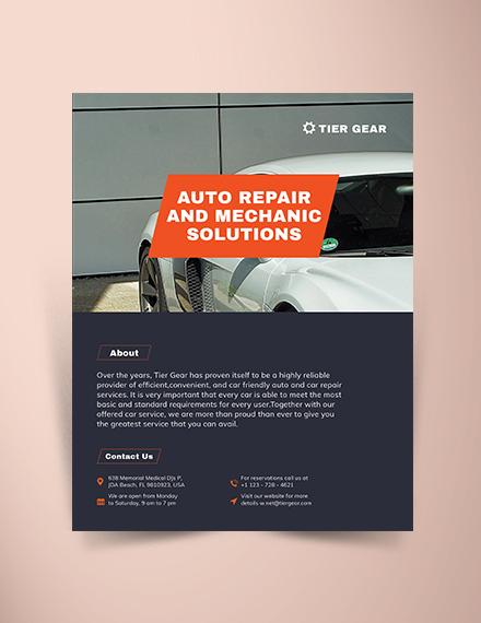auto mechanic brochure mockups 440