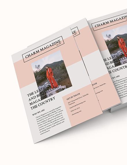 Magazine Flyer Download