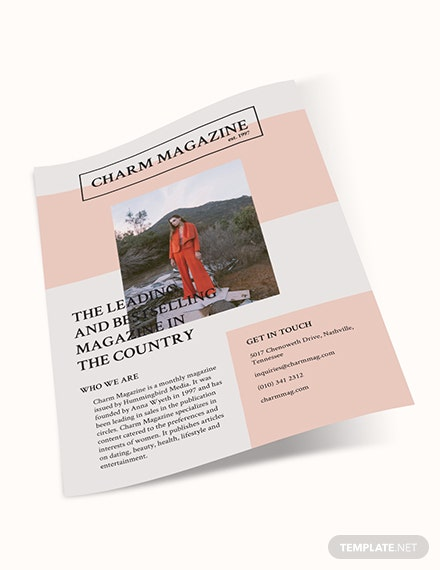 Sample Magazine Flyer