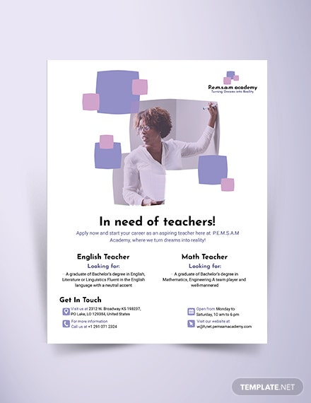 teacher brochure  mockups 440