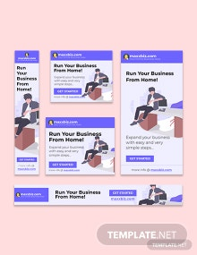 Business Google AD Banner Template