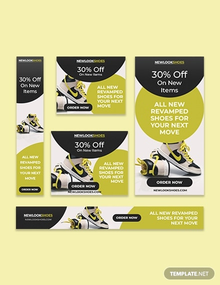 Product Sale Google Ad Banner Template
