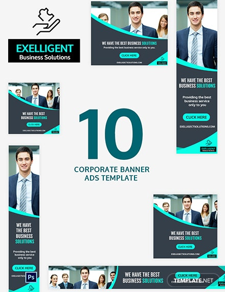 Corporate Banner Ads Template
