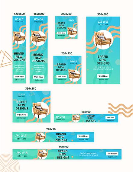Design Studio Web Banner Ad Download