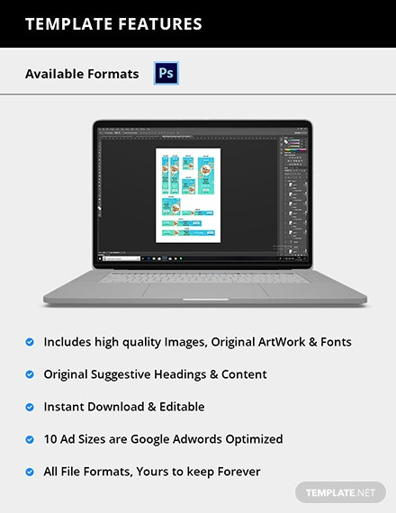 Editable Design Studio Web Banner Ad
