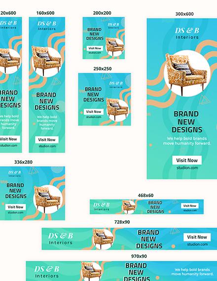 Sample Design Studio Web Banner Ad