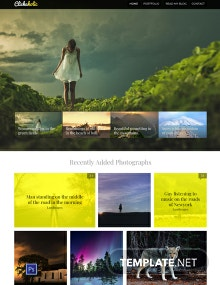 Free Clickaholic Website Template