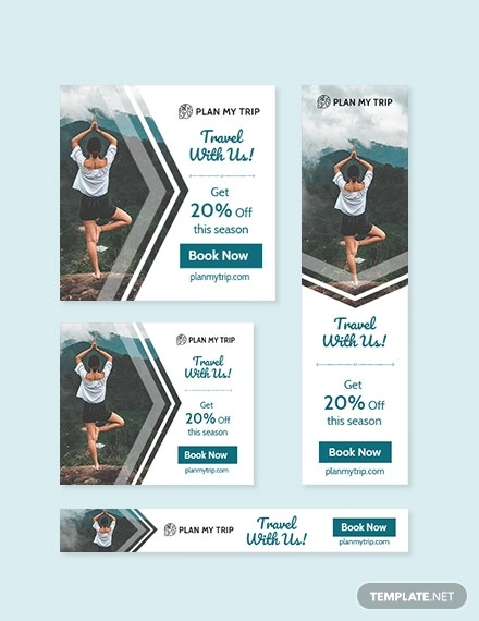 Simple Web Banner Ads Template