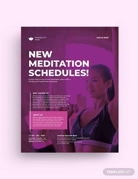 flyer template mockup 2