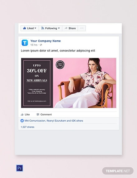 Fashion Facebook Ad Banner Template