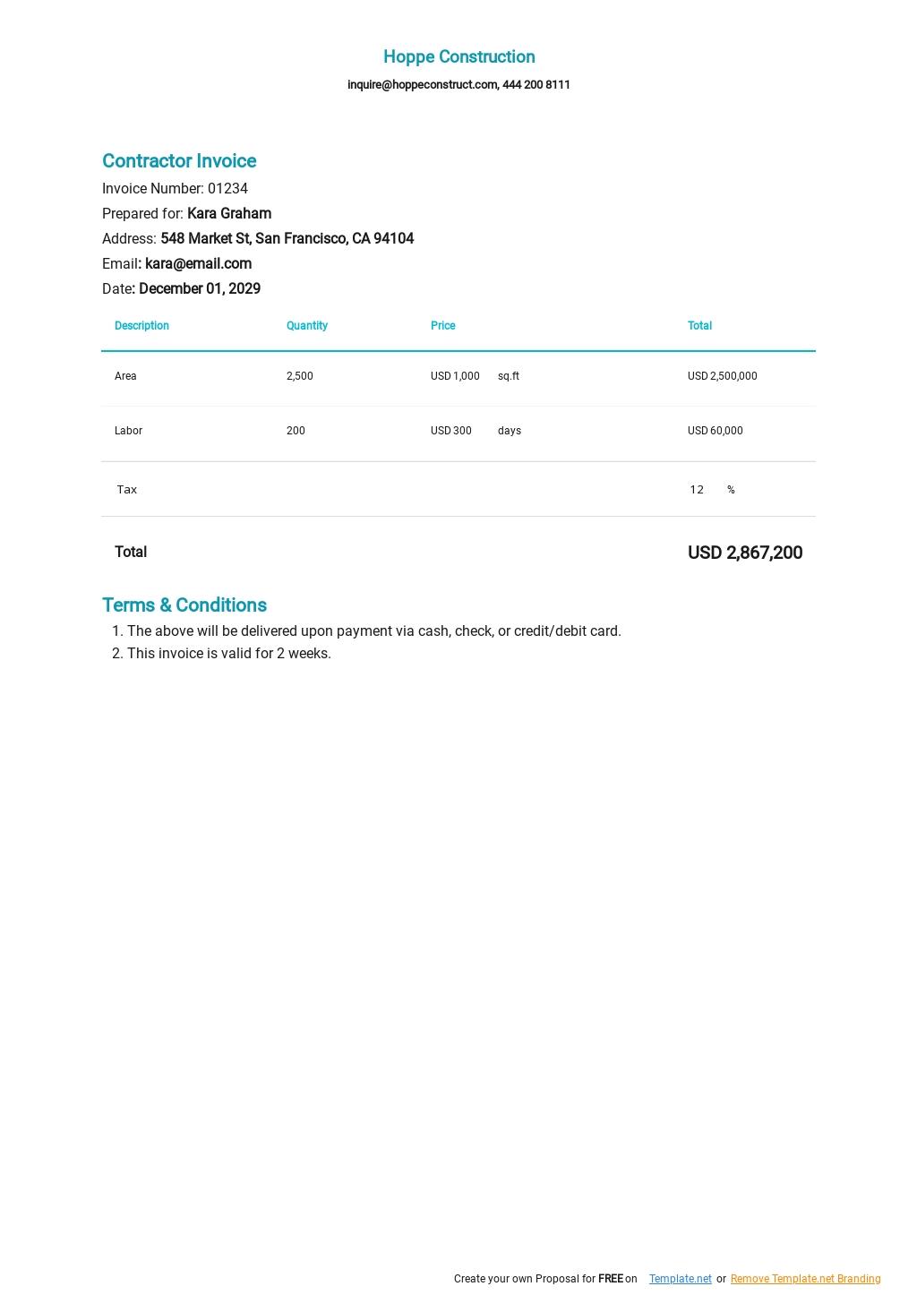 Contractor Invoice Template.jpe