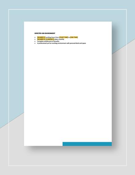 Auditor Job Description Download