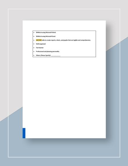 HR Officer Job Description Download