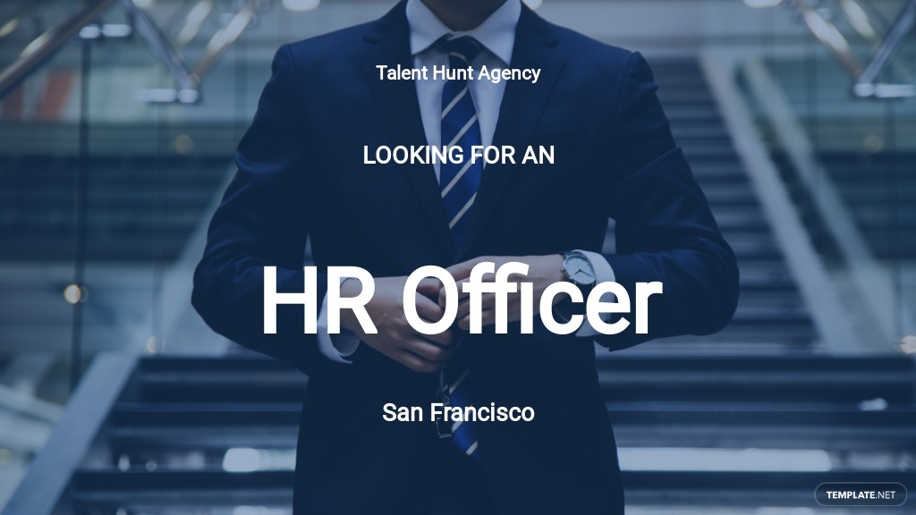 HR Officer Job Description Template