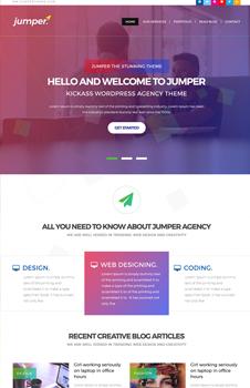 Free Web Design Agency PSD Website Template