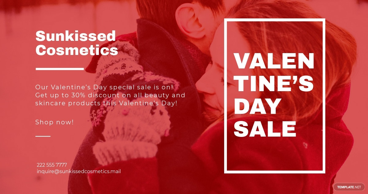 Free Valentines Day Facebook Post Template.jpe