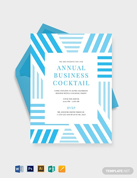 Business Cocktail Party Invitation Download 471 Invitations In
