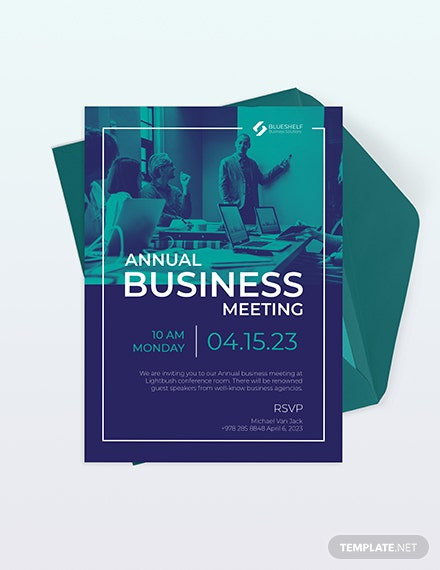 Business Event Email Invitation Download