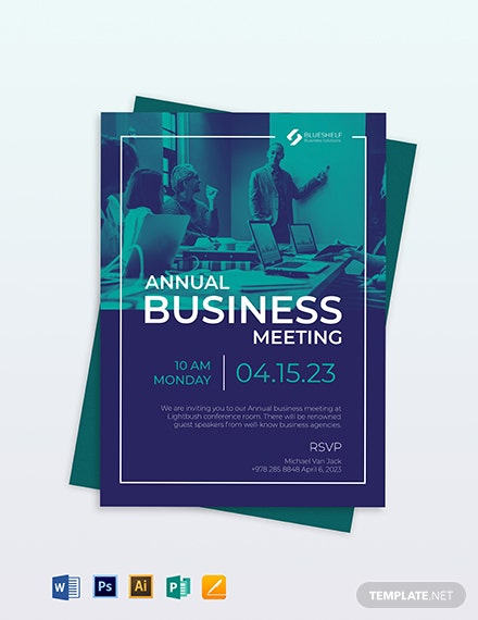 Business Event Email Invitation Template