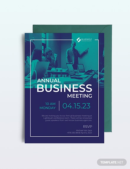 Sample Business Event Email Invitation