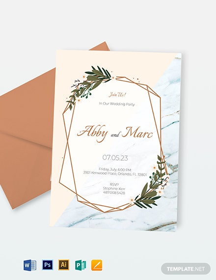 Event Email Invitation Template