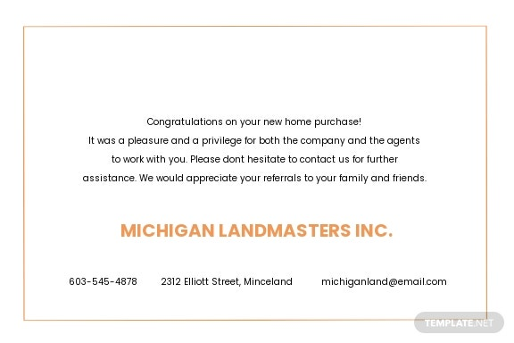 Real Estate Business Thank You Card Template 1.jpe