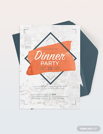 Rustic Party Invitation Download