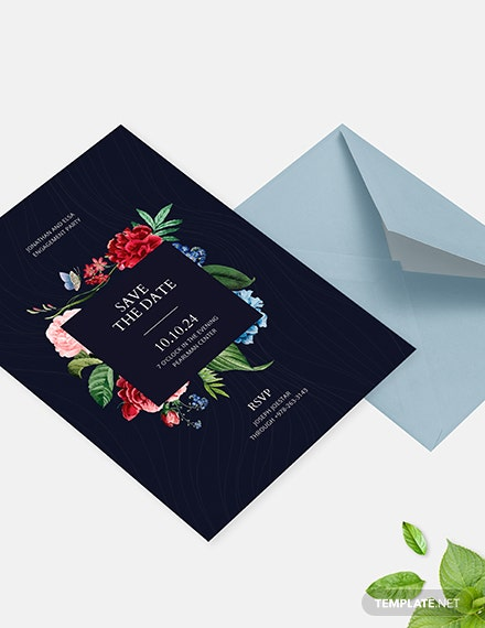 Save the Date Party Invitation Download
