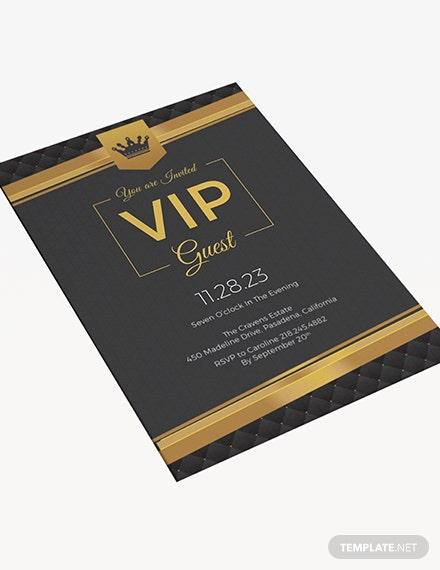 Sample VIP Invitation