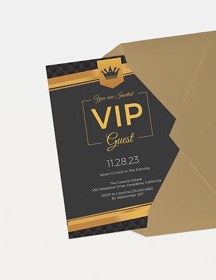 VIP Invitation Download