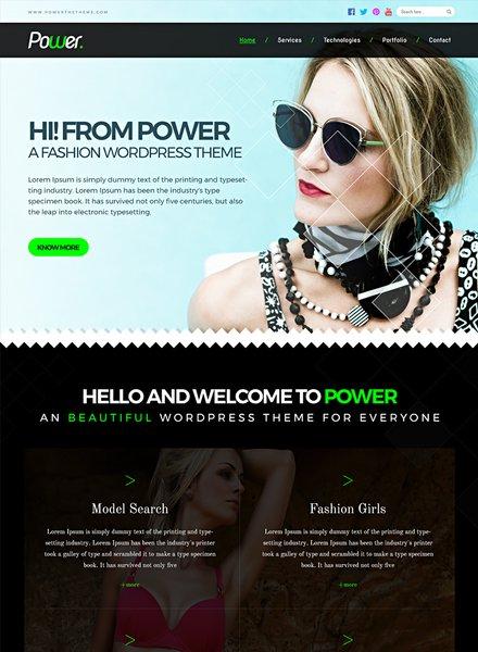 Free Fashion Photo Studio PSD Website Template