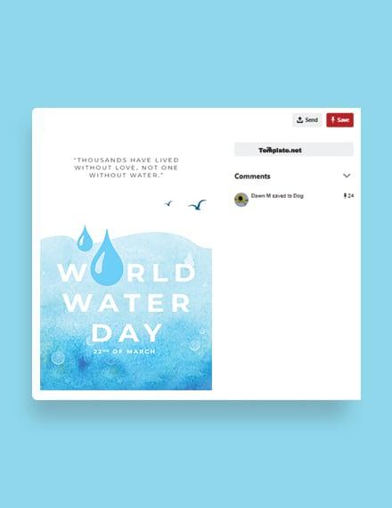 World Water Day Pinterest Pin