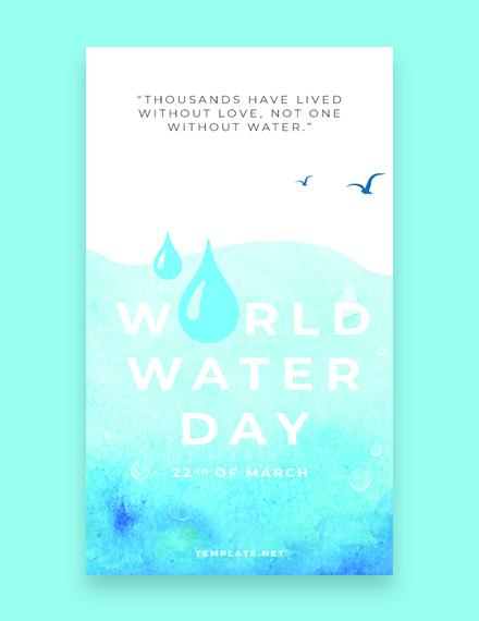 World Water Day Whatsapp Image