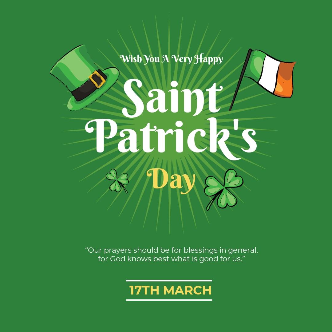 Saint Patrick's Day Instagram Post