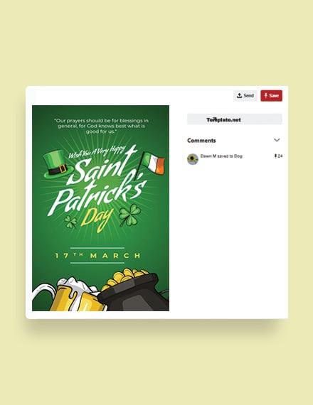 Saint Patrick's Day Pinterest Pin