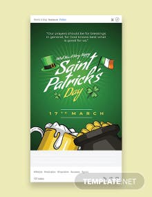 Saint Patrick's Day Tumblr Post