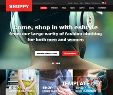 Free Fashion Boutique PSD Website Template
