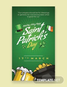 Saint Patrick's Day Whatsapp Image