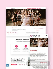 Wedding WordPress Theme/Template