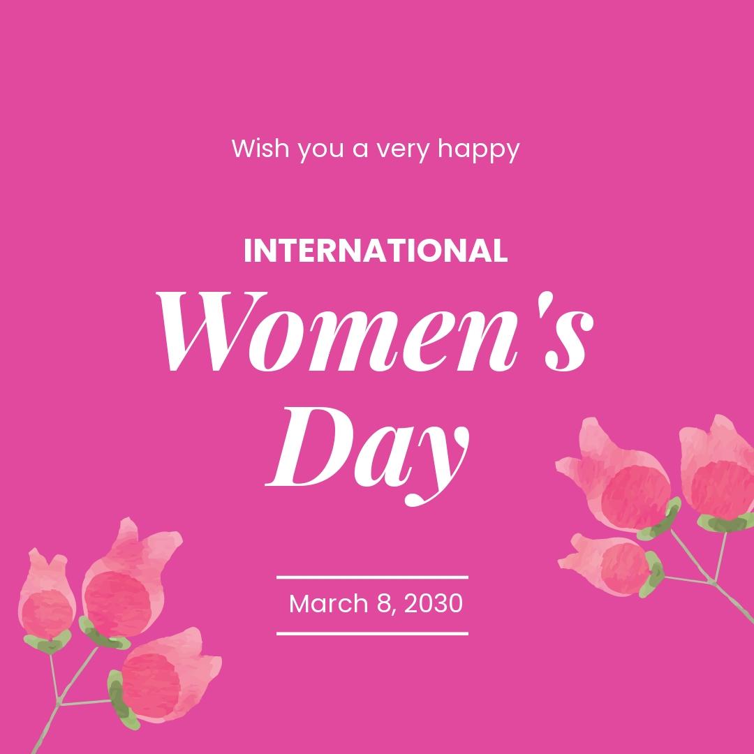 International Women's Day Instagram Post