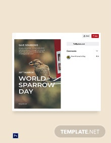 World Sparrow Day Pinterest Pin