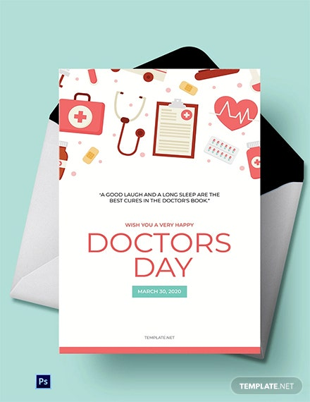 Doctors' Day Greeting Card