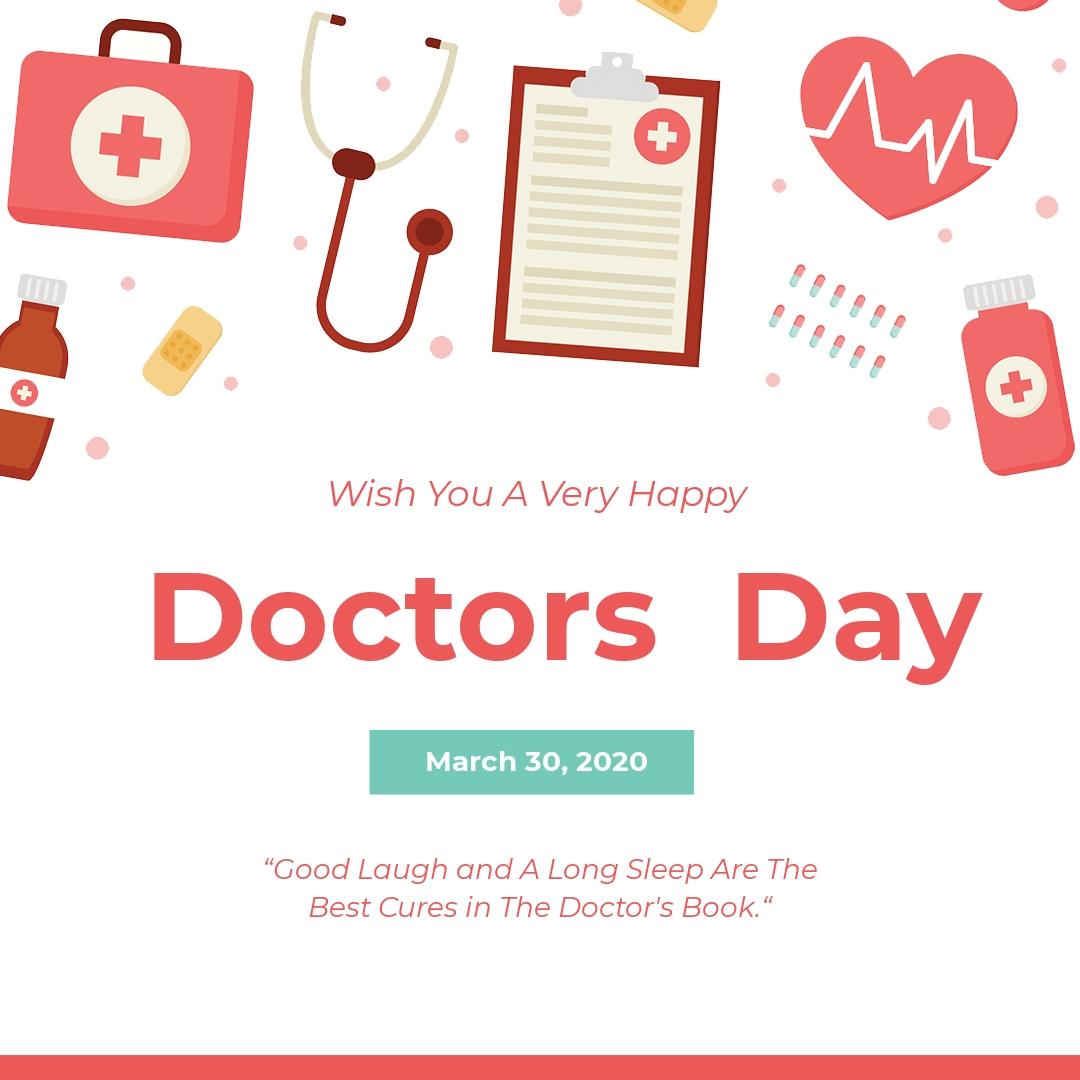 Doctors' Day Instagram Post