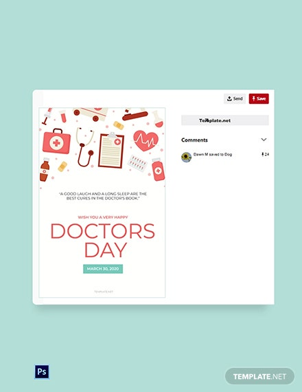 Doctors' Day Pinterest Pin