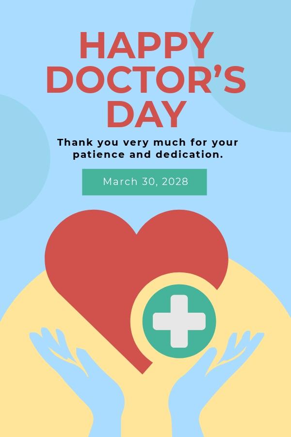 Doctors Day Pinterest Pin