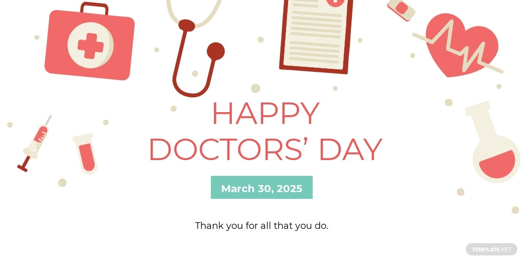 Doctors Day Twitter Post