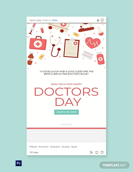 Doctors Day Tumblr Post