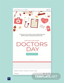 Doctors' Day Tumblr Post