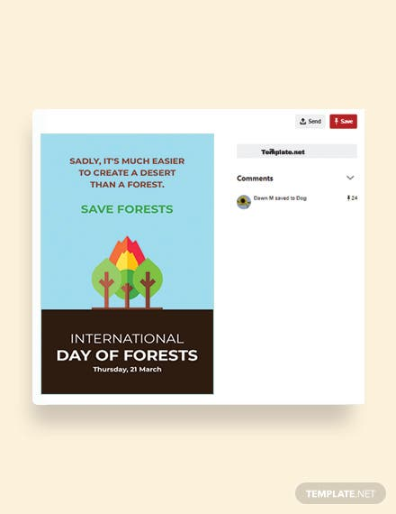 International Day For Forests Pinterest Pin