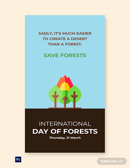 International Day For Forests Whatsapp Image